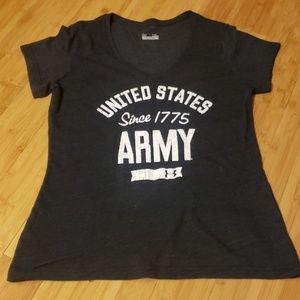 🇺🇸 Women's Under Armour US ARMY Tshirt
